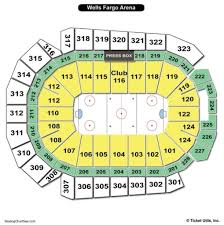Wells Fargo Arena Des Moines Seating Chart With Seat Numbers Wells Fargo Arena Des Moines Seating Chart Seating Charts
