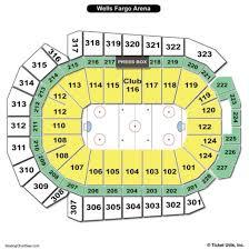 Wells Fargo Arena Seating Chart Wells Fargo Arena Des Moines Seating Chart Seating Charts