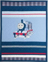 Amazon.com: Thomas the Tank Engine Full Size Embroidered Quilt and ... & Thomas the Tank Engine Full Size Embroidered Quilt and Shams Set- Upscale  Version - 100 Adamdwight.com
