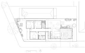 ground floor plan of mullet house by march studio