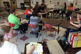 putting students in charge to close the achievement gap the pittsfield middle high school english teacher jenny wellington observes a student led discussion