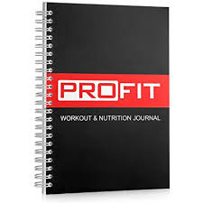 Fitness And Nutrition Journal Profit Fitness And Food Journal Weight Loss Planner Workout Log Diet Notebook Gym Exercise Diary Easy To Use A5 Fit Book 6x8 Inches 140