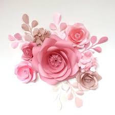 Tissue Paper Flower Wall Art Paper Flower Art Paper Flowers Tissue Paper Flower Arts And Crafts