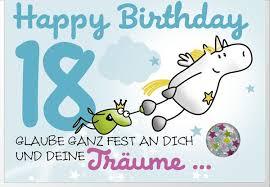 Schöne Und Kurze Geburtstagssprüche Zum 18 Geburtstag