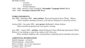 Job Description Of A Hostess For Resume - ITacams #7f83560e4501