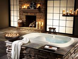 10 mesmerizing luxury bathrooms with fireplaces that you will love to see more luxury bathroom