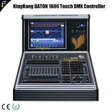 Dmx Lighting Controller Programming Part 1 Kk Baton1606 Dmx512 2048 Channels 12 1 Inch Touch Screen