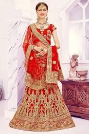 buy wedding lehenga, wedding lehenga designs at best price Wedding Lehenga Price wedding wear red color net lehenga choli with embroidery work wedding lehenga price in india