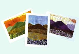 Quilted Note Cards: Outdoor, nature, aspen and mountain Scenes ... & Quilted Note Cards: mountain scenes - assorted color themes Adamdwight.com