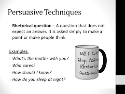english functional skills writing to persuade lesson objectives 3 persuasive techniques rhetorical