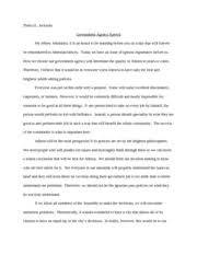 response essay love is a fallacy jackson lee ann jackson  3 pages speech essay government agency