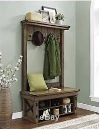 Foyer Benches With Coat Racks Tree With Storage Bench Shoe For Entryway Coat Rack Foyer Hallway 16