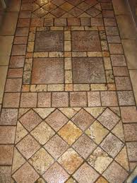 this stone floor is in need of a deep cleaning