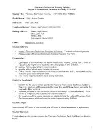 Tech Resume Examples Enchanting Resume Sample For Pharmacy Technician Letsdeliverco