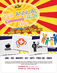 Health Expo 2nd Annual H3p Community Health Expo