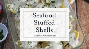Seafood Stuffed Shells - YouTube