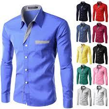 <b>2018 New Fashion Brand</b> Camisa Masculina Long Sleeve Shirt Men ...