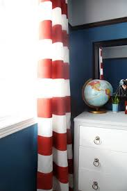white and red striped curtains curtain designs