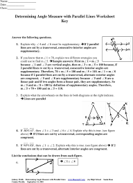 sample answers first m 1 m 3 because 1 and 3 are vertical angles