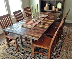 diy dining table from reclaimed wood. custom round dining table reclaimed wood trestle 72 rectangular diy room from e
