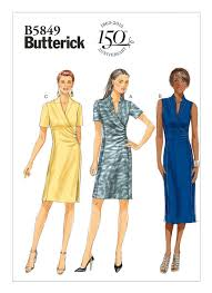 Mccall Patterns Beauteous B48 Misses' Dress Sewing Pattern Butterick Patterns