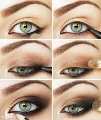 smokey eye makeup for green eyes 10 easy steps how to apply smokey eyeshades trendy mods