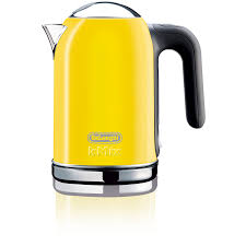 tea kettle  kitchenaid tea kettle yellow yellow teapot cafe