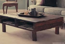 coffee table made from pallets rustic pallet coffee table diy coffee table made from pallets
