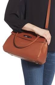 brown leather satchel bags longchamp madeleine leather satchel