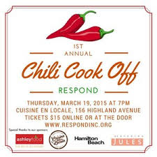 1st annual chili cook off. Fine Off First Annual Chili CookOff For RESPOND Throughout 1st Cook Off