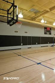 standard s led bell shape high bay can certainly resist the impact of basket in this gymnasium