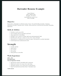 Resume Samples For Graphic Designer Bartender Resume Templates Free