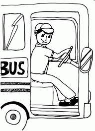 Bus Kleurplaten