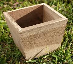 small wooden planter designs box diy wood planters