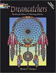 Books About Dream Catchers Dreamcatchers Stained Glass Coloring Book Dover Design Stained 60