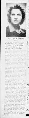 Morgan-Loerke wedding Jul 1943 - Newspapers.com