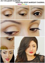 get the look old hollywood makeup tutorial