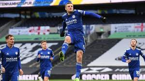 The official tottenham hotspur instagram account. Tottenham Hotspur 0 2 Leicester City Jamie Vardy Strikes As Foxes Go Second Bbc Sport