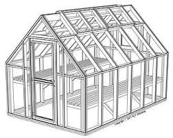 green house plans. 8\u0027 X 12\u0027 Greenhouse Plans - Printed Version Green House H