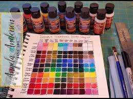 Andersen Color Chart 1 Creating A Color Mixing Guide Chart Acrylic Painting