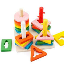 montessori educational wooden toys shape matching blocks baby interactive toys for children kids toy brinquedo educativo