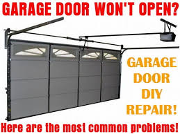 garage door won t openGarage Door Will Not Open  How To Fix A Stopped Door