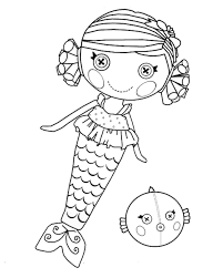Free Lalaloopsy Coloring Pages To Print
