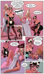 Fantasy fetish porn comic