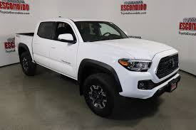 New 2018 Toyota Tacoma TRD Off Road Double Cab Pickup in Escondido ...