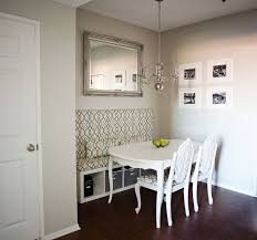 IKEA shelf turned into built-in banquet kitchen seating - this might just  work for. Apartment Dining RoomsDining Room MakeoversSmall ...