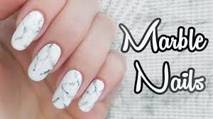 Sonickas Glammy Tutorial Mramorové Nechty White Stone Marble Nails