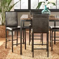 Darcy Metal Upholstered Counter Height Dining Chairs (Set of 4) by iNSPIRE Q  Bold - Free Shipping Today - Overstock.com - 15997557