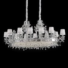furniture stunning silver crystal chandelier 6 large classic oval 3 antique silver crystal chandelier