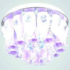 princess ceiling light shade lamp pink kids children girls room pendant fan crystal chandelier traditional fans disney
